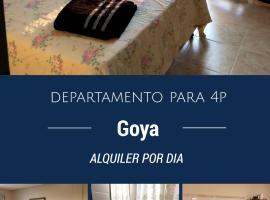 Atardecer del Paraná, Goya