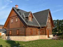 Villa Harta, Vrchlabí (Dolní Lánov yakınında)