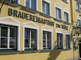 Brauereigasthof zur Münz, Günzburg