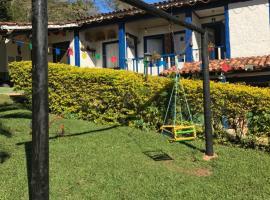 Pousada Rural Recanto do Vale, São Gonçalo do Rio das Pedras (Diamantina yakınında)