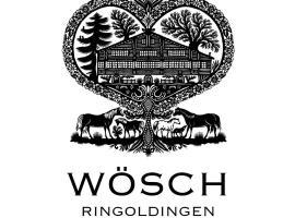 Begegnungshof Wösch Ringoldingen, Erlenbach im Simmental (Diemtigen yakınında)