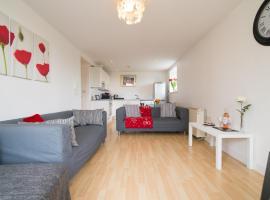 Blackley 2 bed apartment, Манчестер (рядом с городом Prestwich)