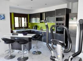 Modern new Em & Em apartment, Goníai (W pobliżu miasta Avdou)