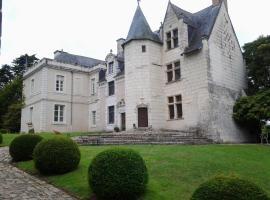 Manoir de Chauvigné, Saint-Rémy-la-Varenne (рядом с городом Gohier)