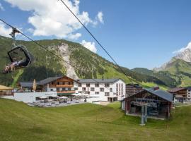 Sporthotel Steffisalp, Warth am Arlberg