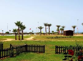 Perle Orientale Saidia Appart vue sur jardin et sur mer