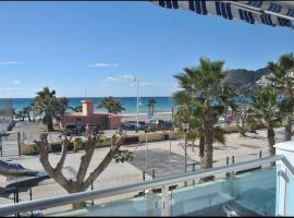Apart. 1ª línea de playa con terraza La Herradura GB1