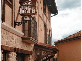 El Rincón de Rascafría, Rascafría (Oteruelo del Valle yakınında)