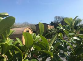 Dreamhuts Retreat- Shepherds Rest, Cullompton (рядом с городом Kentisbeare)