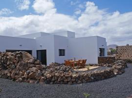 ArtLab Residency. Casa Oeste. Habitaciones, La Oliva (Lajares yakınında)