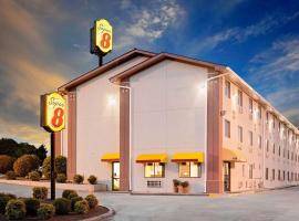Super 8 by Wyndham Johnson City, Johnson City (in de buurt van Elizabethton)