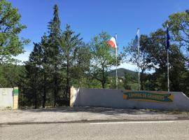 Camping de Graniers, Monoblet (рядом с городом Conqueyrac)