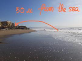 Lujoso duplex en la playa con vistas al mar
