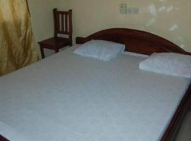 Hotel Le Doppel, Bohicon (рядом с регионом Abomey)