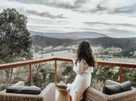Kangaroo Ridge Retreat, Healesville (Healesville West yakınında)