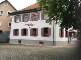 Gästehaus zum Adler, Baden-Baden (Steinbach yakınında)