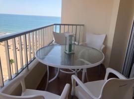 Apartamento La Mar de Cerca. Terraza vistas Mar. 1ª Linea Playa