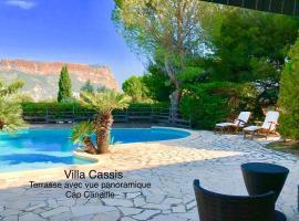 Villa Cassis Vue Mer et Cap Canille panoramique