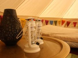 The Valley Furnished Bell Tent, Pembrokeshire