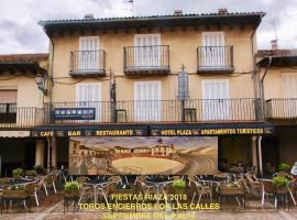 Hotel plaza, Riaza (Cantalojas yakınında)
