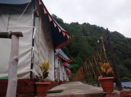 The Blue camp Barot