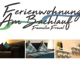 Ferienwohnung Am Bachlauf, Pommern (Treis-Karden yakınında)