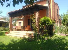 Habitación privada en casa con jardín, Пералада (рядом с городом Mollet de Perelada)