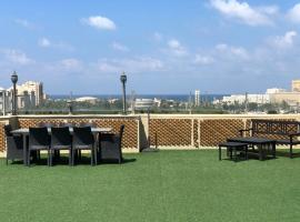 Sea View Penthouse W/ Huge terrace & Parking