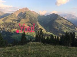 Giferspitz Gstaad, Gstaad (Hornkessel yakınında)