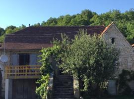 Maison quercynoise, Gigouzac (рядом с городом Peyrilles)