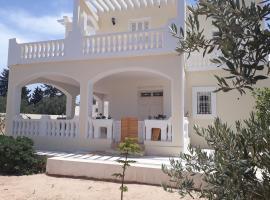 Chambre pour artistes avec grande terrasse
