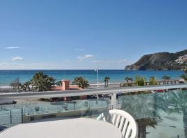 Primera línea playa con terraza La Herradura GB3
