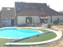 La piscine au rosiers, Les Garniers (рядом с городом La Belliole)