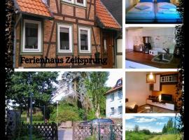 Ferienhaus Zeitsprung, Hornburg (Börßum yakınında)