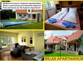 Relax Apartman, Бюк (рядом с городом Répcelak)