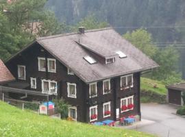 Gasthaus Bergheim, Gurtnellen (Amsteg yakınında)