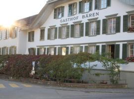 Gasthof Bären Laupen, Laupen (Ueberstorf yakınında)