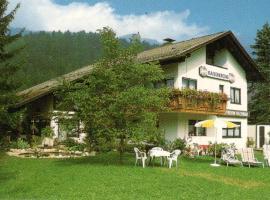 Ferienwohnungen Josef & Karin Ketterl, Sachrang (Aschach yakınında)