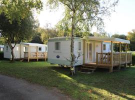 Camping Les Myrtilles, Kermorvan (рядом с городом Elliant)