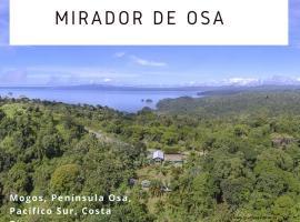 Mirador Osa, Mogos (Esquinas yakınında)