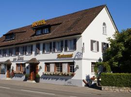 Hotel Restaurant Kreuz, Kaiserstuhl (Wislikofen yakınında)
