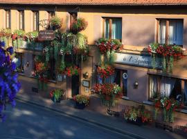 Hôtel Restaurant de l'Agneau, Pfaffenhoffen (рядом с городом Uhlwiller)