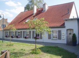 Die alte Stadtmühle von Kloster Zinna, Jüterbog (Kloster Zinna yakınında)