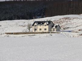 Cairn House, Remote Highlands, Glenmoriston (рядом с городом Achlain)
