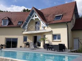Chambre calme avec piscine, Cavagnac (Near Meyssac)