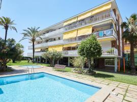 Beachfront Resort Apartment, Кастельдефельс (рядом с городом Los Pinares)