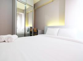 2BR with Mall Access at Green Pramuka City Apartment By Travelio