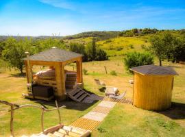 Gîte 2 personnes (Périgord)+piscine+bain nordique+sauna infrarouge, Léguillac-de-Lauche (рядом с городом Saint-Astier)