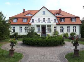 Pension Gutshaus Krusemark, Hohenberg-Krusemark (Ziegenhagen yakınında)
