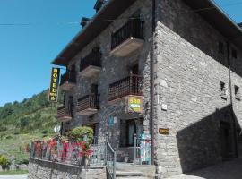 Hotel Las Nieves, Linás de Broto